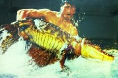 Larbi & Crique knie tournee de 1989 - le cirque sous l'eau